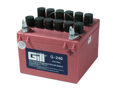 Gill G 240  Battery- Does not include Acid