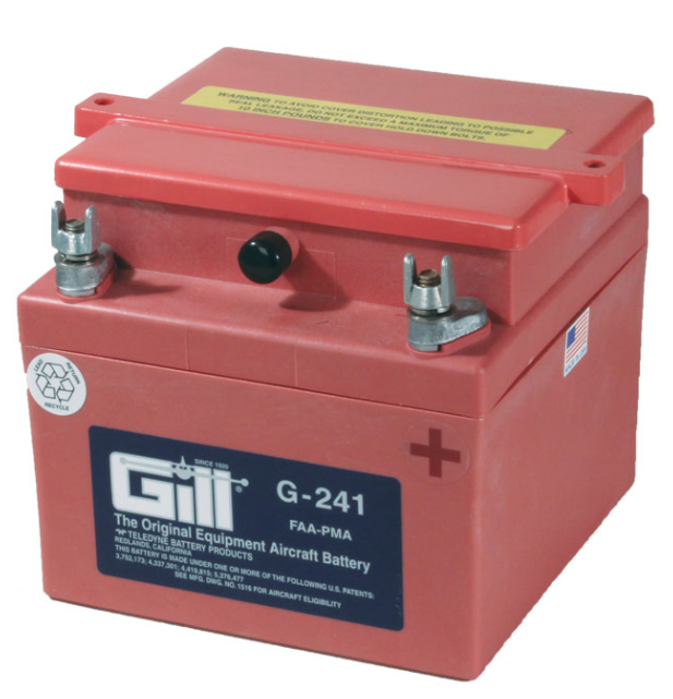Gill G 241 Battery - Includes Acid