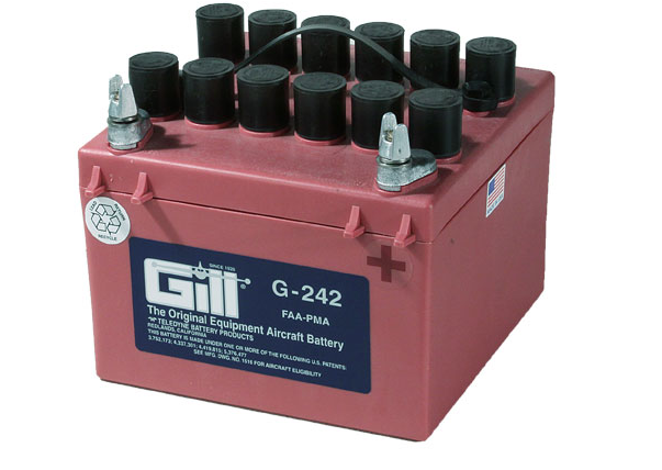 Gill G 242 Battery - Includes Acid