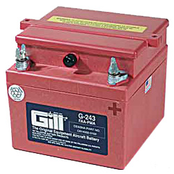 Gill G 243 Battery - Includes Acid