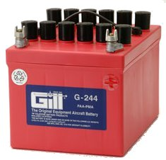 Gill G 244 Battery - Includes Acid