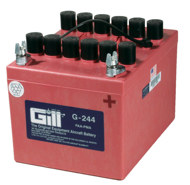 Gill G 244 Battery- Does not include Acid