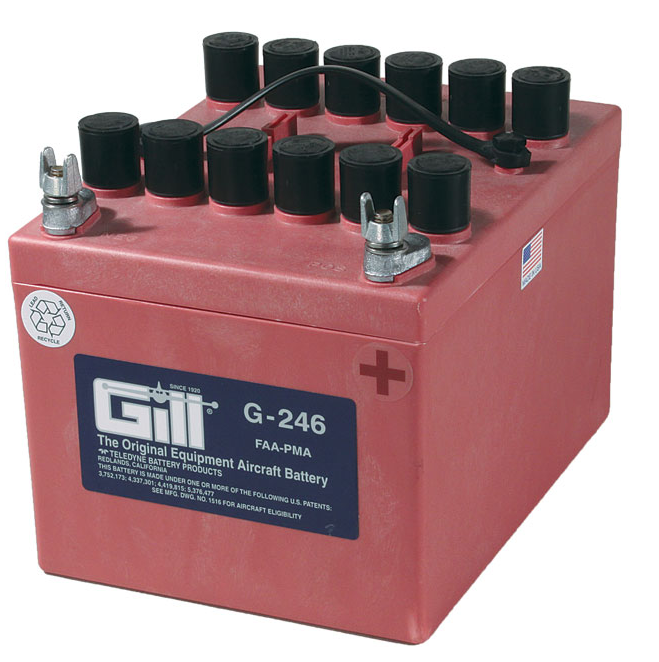Gill G 246 Battery - Includes Acid