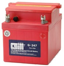 Gill G 247 Battery - Includes Acid