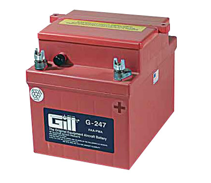 Gill G 247 Battery- Does not include Acid
