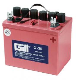 Gill G 25  12v  Battery - Includes Acid