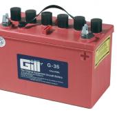 Gill G 35  12v  Battery - Includes Acid