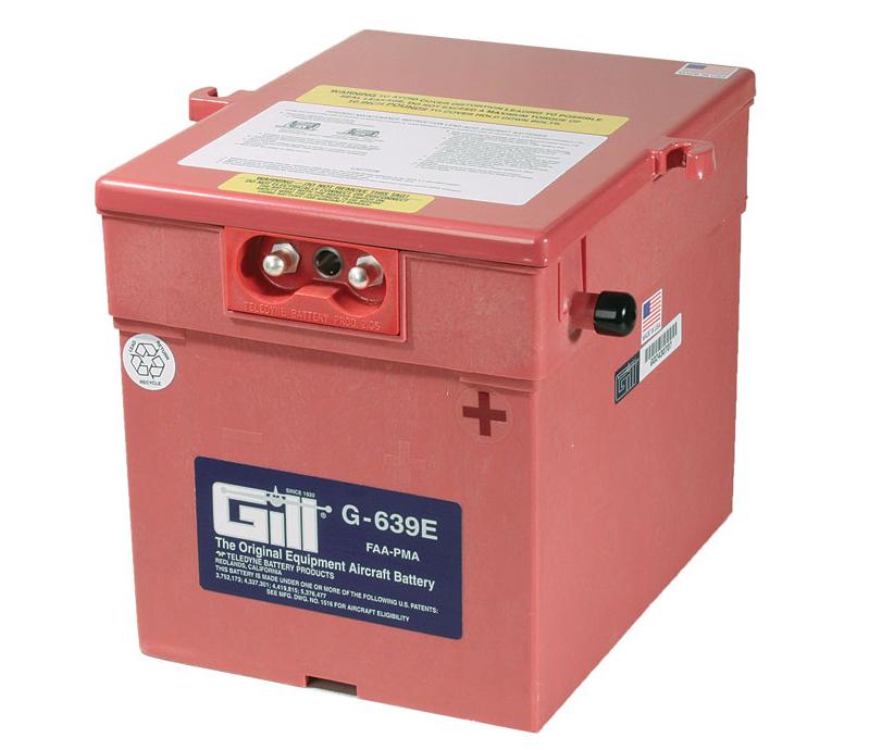 Gill G 639E Battery -Includes Acid