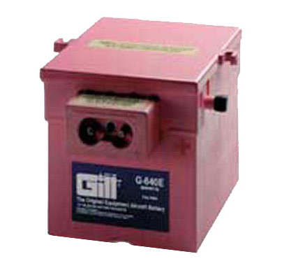 Gill G 640E Battery -Does not include Acid