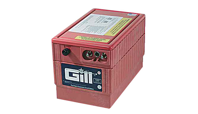 Gill G 641E Battery -Does not include Acid