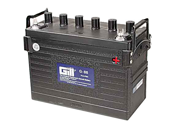 Gill G 88  Battery -Does not include Acid