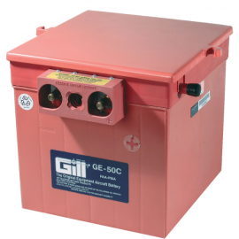 Gill GE 50C Battery -Includes Acid