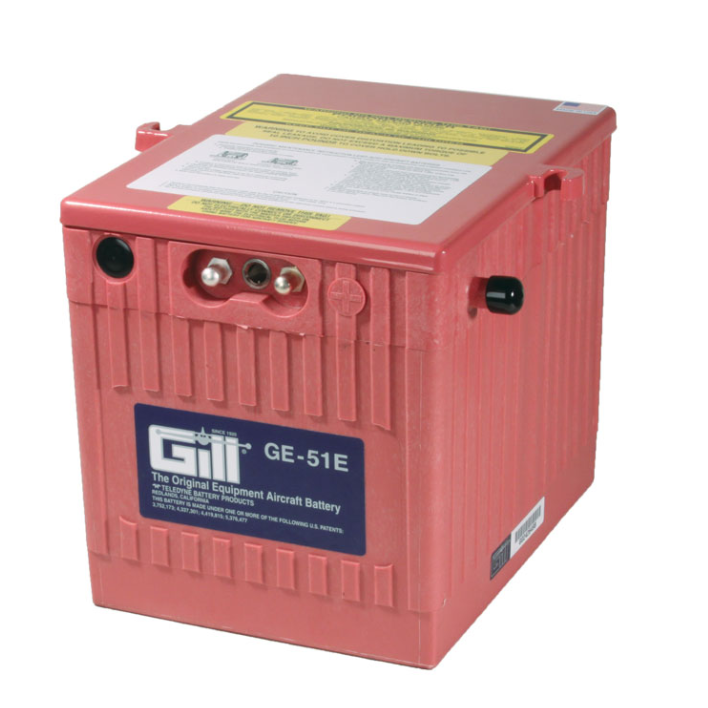 Gill GE 51E   Battery -Does Note Include Acid