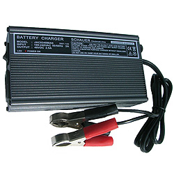 Schauer 24v Battery Charger with Spring Clips