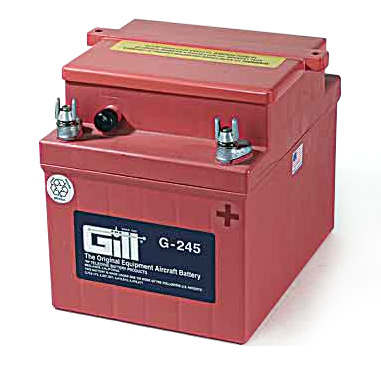 Gill G245 Battery - Includes Acid