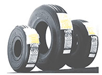 14.5x5.5-6 14 Ply Retread Helicopter Tire