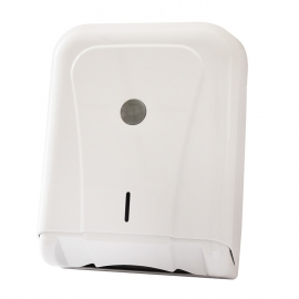 Bifold Paper Towel Dispenser White (Single Item)
