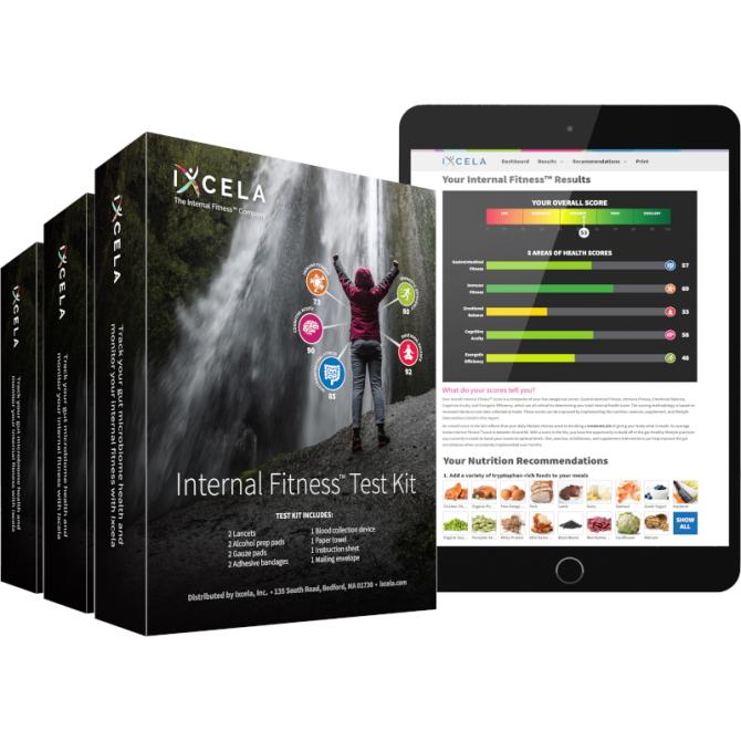 IXCELA - INTERNAL FITNESS TEST KIT PACK