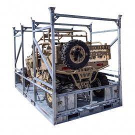 Spacesaver - Mobility Crate - UTV Storage Rack